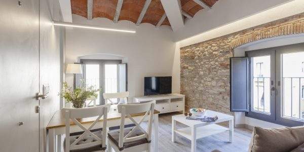 Holiday Apartment, Girona, Bonaventura 5. Lounge